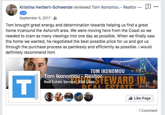 Tom Ikonomou - Happy Buyer Testimonial